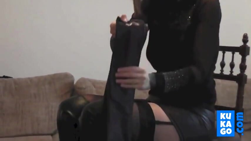 Girl with Thigh boots