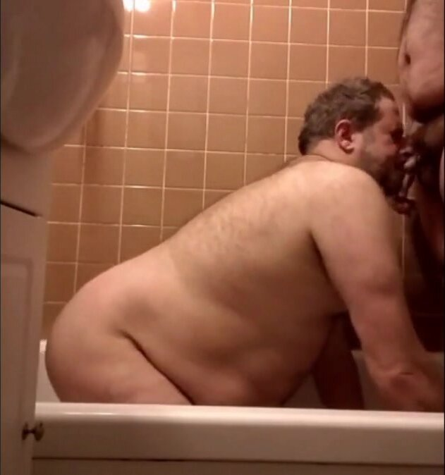 Me and mr. Billy in the tub 3